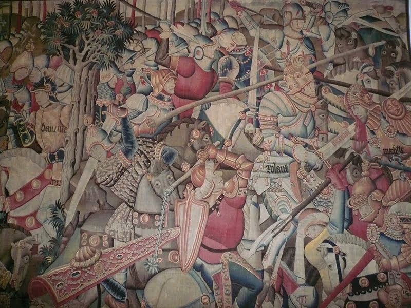 BLW_Tapestry,_The_Battle_of_Roncevaux - en pequeño